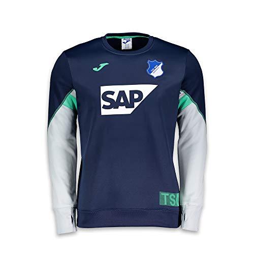 TSG 1899 Hoffenheim Sweat-Shirt d'entraînement pour Homme 4XL Bleu Marine