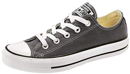 Converse Unisex Chuck Taylor All Star, Zapatillas de Baloncesto bajas, negro (Negro), US Men 8 / US Women 10