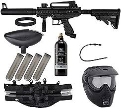 Action Village Tippmann Epic Paintball Gun Package Kit (Cronus) (Black Tactical)