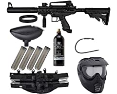 Tippmann Cronus Paintball Gun of Your Choice Action Village 20 oz CO2 Tank Action Village 4+1 Paintball Harness (Black) and (QTY 4) 140 Round Paintball Pods (Smoke) GXG 200 Round Loader (Black) and Action Village Pull Through Squeegee (Assorted Color...