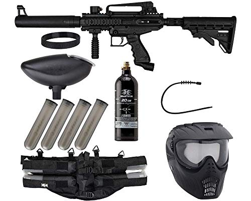 Product Image of the Action Village Tippmann Epic Paintball Gun Package Kit (Cronus) (Black Tactical)