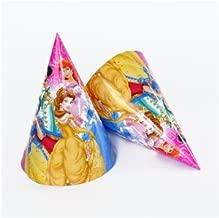 Partymane Disney Princess Theme Birthday Party Hats/Caps (Pack of 10)