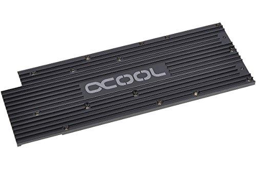 Alphacool 11176 Backplate für GPX - AMD R9 280X M04 - Schwarz Wasserkühlung GPU - Kühler