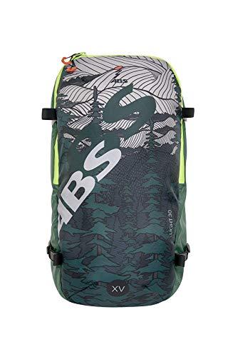 ABS All Brake Systems Sac à dos Lawinen avec fermeture éclair 30 l pour P.Ride Compact et S.Light Base Unit, 30 l de volume, compartiment pour équipement de sécurité, support de ski et snowboard, filet de casque, Mixte, SLZ30XV, Xv Limited Edition, 30 l