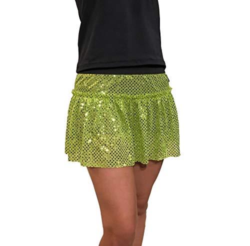 Sparkle Running Skirt   Running Tutu   Running Costume   Sparkle Costume Skirt (XSmall, Lime Green)