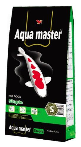 Aqua Master Staple Koi Fish Food Bag, Small, 2.2-Pound
