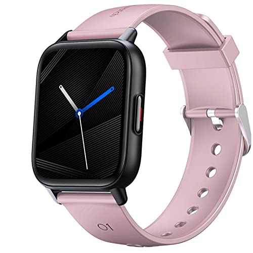 2021 Nuevo Smartwatch Reloj Inteligente,1,69' Rastreadores De Fitness con 24 Modos Deportivos, Los Rastreadores De Actividad A Prueba De Agua IP68 Miran El Cronómetro del Podómetro,Rosado