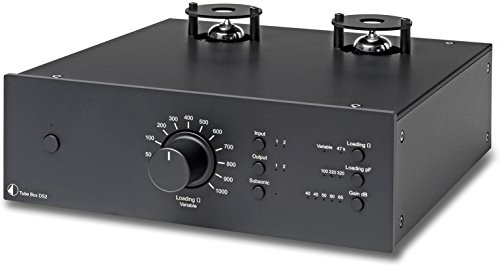 Pro-Ject Tube Box DS2 Premium MM/MC Phonovorverstärker mit Röhren - schwarz