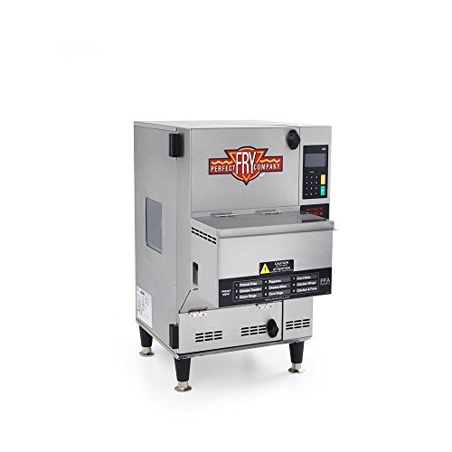 Perfect Fry PFA720 Ventless Enclosed Electric Deep Fryer 2.75 Gallon