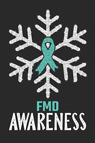 FMD Awareness: Christmas Snowfall College Ruled FMD Awareness Journal, Diary, Notebook 6 x 9 inches with 100 Pages