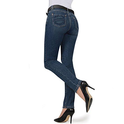 SEY® Jeans Maja DKL.-blau Gr. 44 - ((E 61644) NENA Blue GR.34/32)