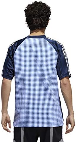 Adidas B Side Jersey T-Shirt Collegiate Navy at Amazon Women's ...