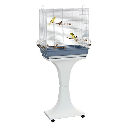Voliera Gabbia per Uccelli Volatili Canarini Imac Camilla 50x30x57 cm