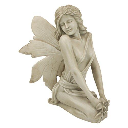Design Toscano PD1549 The Enchanted Garden Fairies Colleen Statue,antique stone