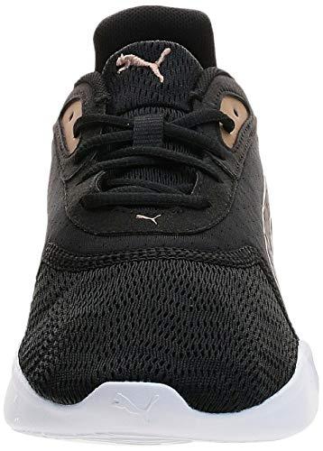PUMA JaroMetal Wns, Zapatillas de Running Mujer, Negro Black/Gold, 37.5 EU