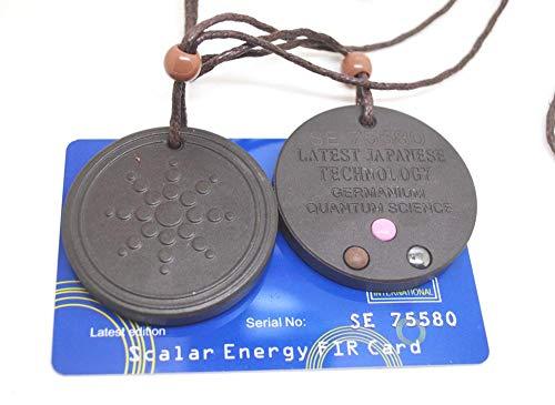 SEKDAQ Quantum Pendant Necklace Women Men,scalar Orgon Energy,emf Protection And Spiritual Healing(black,orgone Kit)