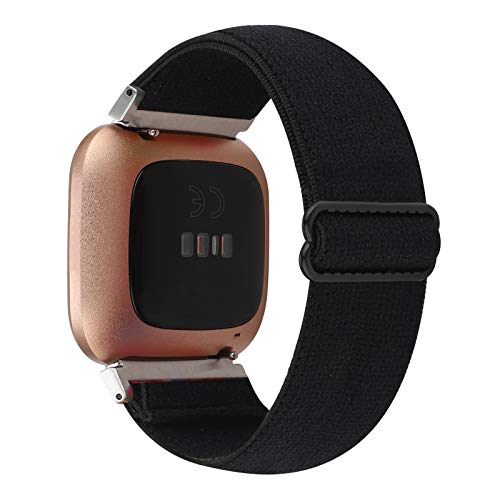 Adjustable Elastic Watch Band Compatible with Fitbit Versa/Versa 2/Versa Lite Special Edition for...