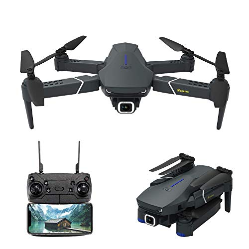 Drone with 4K Camera Live Video,EACHINE E520 WiFi FPV Drone for Adults with...