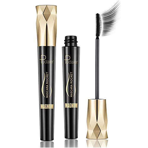 4D Silk Fiber Wimperntusche Crown Mascara, Extra Long Lash Verlängerung & Volumen Eyelash Mascara...