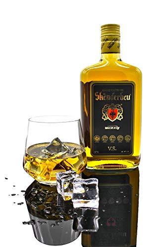 Gjergj Kastrioti Skenderbeu Brandy in der Geschenkbox 0,7 l Original 40%