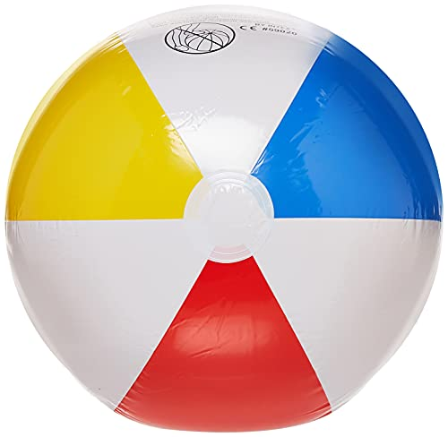 Intex Glossy Panel Ball - Aufblasbarer Wasserball/Strandball - Ø 51 cm