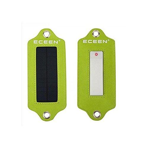 Select Zone Farol solar portátil para camping, 3 modos, iluminación de emergencia, luz nocturna (color: verde)