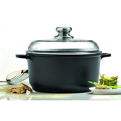 Eurocast Professional Cookware 10' Stock Pot with Glass Lid