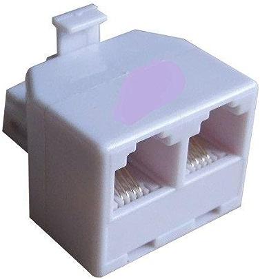 fosa Connecteur Ethernet RJ11 6P4C M/âle /à 4 broches /à vis