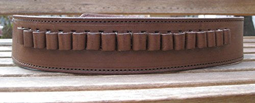 Country Western USA Brown Genuine Leather .45 Caliber...