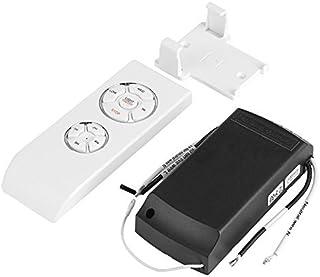 Yosoo Control Remoto Ventilador Techo 4 Tiempos 3 Velocidades Mando a Distancia Ventilador Techo Universal Inalámbrica Blanco