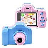 AG-NYQ Juguete de los niños Recargables para cámaras Digitales, cámara de 2 Pulgadas de Pantalla IPS 1080P cámara de vídeo del envío niño, cámara de Regalo niño de 4-8 años,Azul