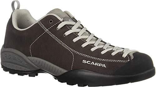 Scarpa Mojito, sportlicher Herren-Sneaker, Braun - dunkelbraun - Größe: 5.5 UK