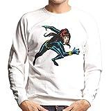 Marvel Black Widow Running Men's Sweatshirt