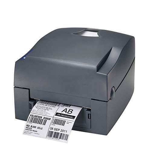 FASBHI Label printer, barcode zelfklevende printer QR code dom zilver papier, geschikt voor kleine bedrijven printers