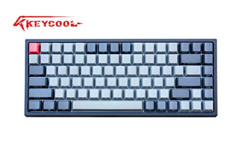Keycool Hero 84 2019 Edition Mechanische Tastatur Cherry MX Switches Mini Gaming 84 Tasten Tastatur Schwarz Cherry MX Brown Black/Grey