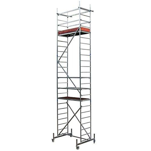 ALTEC Alu Gerüst Rollfix Höhe 7 m neu, inkl. Rollen TÜV-geprüft