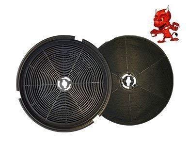 1 Aktivkohlefilter Kohlefilter Filter passend für Dunstabzugshaube Smeg FLT6