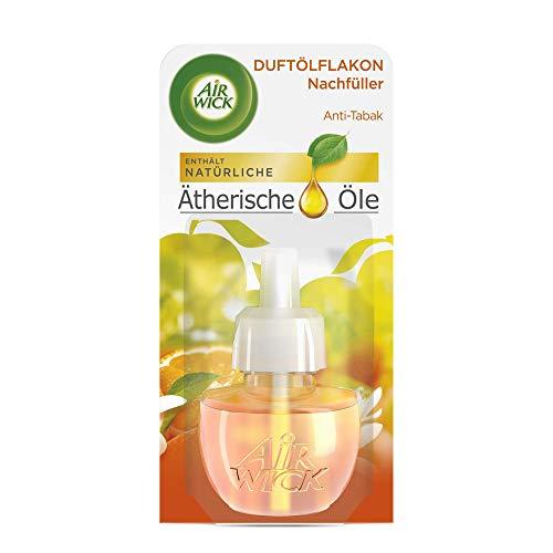 Air Wick Duftölflakon Nachfüller Anti-Tabak – Fruchtiger Raumduft mit ätherischen Ölen & gegen Tabak Gerüche – 1 x 19ml
