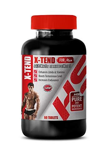 Man Enhancement Pills for Sex - X-TEND for Men - ALTIMATE Enhancement - tongkat ali Long Jack - 1 Bottle 60 Tablets