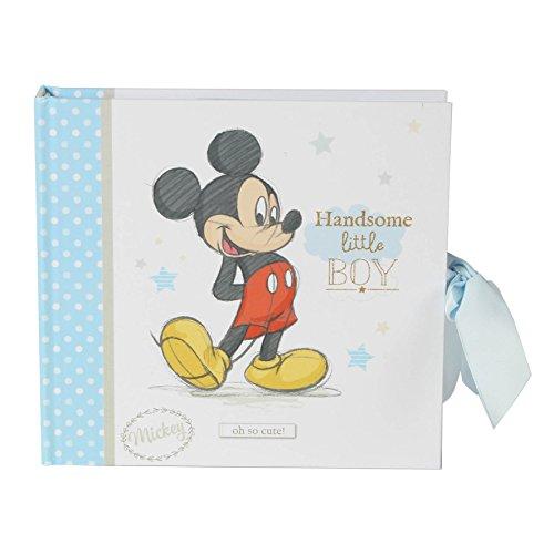 Disney WBM-GFT53 Baby Boy Mickey Mouse Foto Album, transparent, 200 g