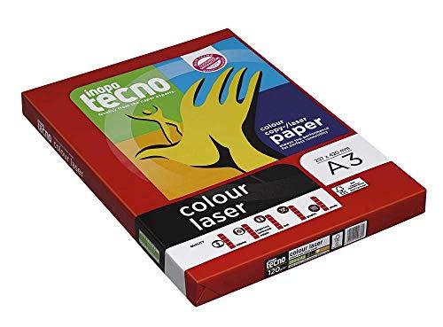 inapa tecno Laserpapier colour laser A3 120 g/qm 250 Blatt