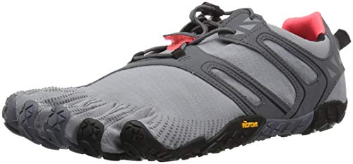 Vibram Five Fingers Damen V-trail Traillaufschuhe, Grau (Grey/Black/Orange Grey/Black/Orange), 39 EU
