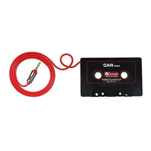 Festnight Adattatore Cassette per Auto, Audio AUX Misura per Il Telefono Andriod MP3 di iOS