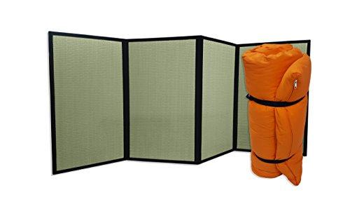 Combinación Tatami Plegable Futon portátil Naranja