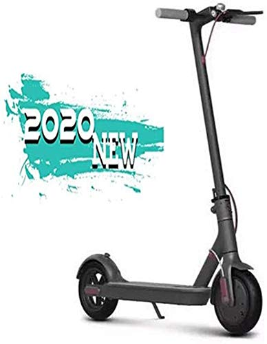 ZEH Scooter Elettrico Adulti, 8,5 Pollici 250W Motori, velocità Massima 30 km/h, Pneumatici Hollow, 267 Carico Lbs Massima, Ultraleggeri Pieghevoli E-Scooter for Adulti e Ragazzi, Nero FACAI