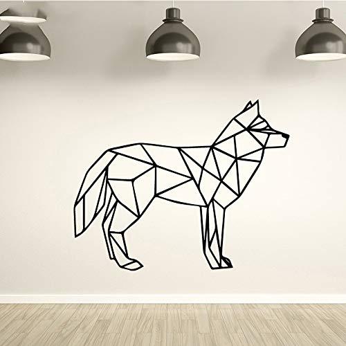 Tianpengyuanshuai Dumme Hund Wandaufkleber Home Decoration Wohnzimmer bewegliche dekorative Wandaufkleber Mode Aufkleber Creative 36X44cm