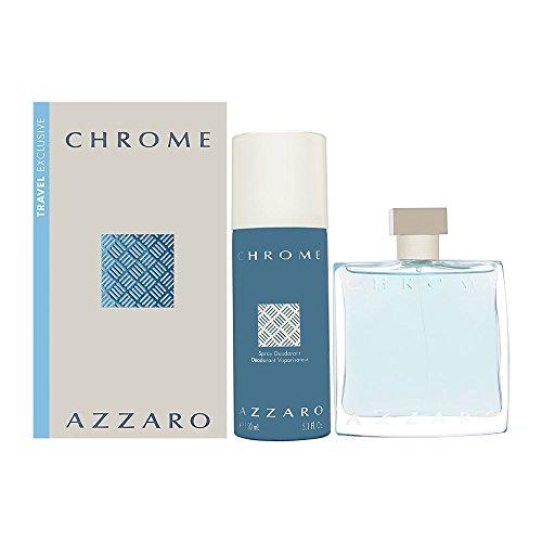AZZARO CHROME EDT 100 ML + DEO VAPO 150 ML TRAVEL SET