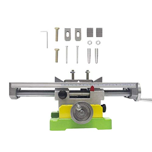 MultifunctionWorktable Milling Working Cross Table Milling Machine Compound Drilling Slide Table For Bench Drill Adjustme X-Y (6350 SIZE)
