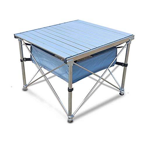 AJH Tables et chaises Pliantes Table et chaises en Aluminium de Pique-Nique léger Portable extérieur Envoyer Un Sac de Rangement Évolutif