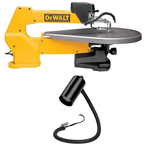 DEWALT DW788 1.3 Amp 20-Inch Variable-Speed Scroll Saw with Scroll Saw Work Light